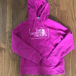 North face hoodie size small